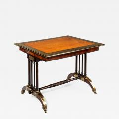Gillows of Lancaster London Gillows Rosewood Library Table - 754987