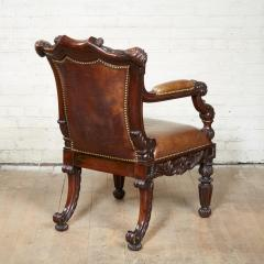 Gillows of Lancaster London Important George IV Rosewood Armchair - 2007100