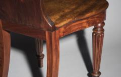Gillows of Lancaster London Pair of Regency Hall Chairs - 1214499