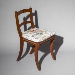Gillows of Lancaster London Pair of Regency Klismos Chairs with Beaded Decoration - 1214881