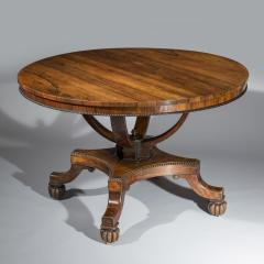 Gillows of Lancaster London Regency Centre Table attributed to Gillows - 999838