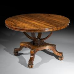 Gillows of Lancaster London Regency Centre Table attributed to Gillows - 999839