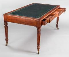 Gillows of Lancaster London Regency Gillows Mahogany Writing Table Circa 1810 - 976269