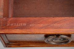 Gillows of Lancaster London Regency Gillows Mahogany Writing Table Circa 1810 - 976272