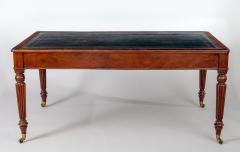 Gillows of Lancaster London Regency Gillows Mahogany Writing Table Circa 1810 - 976273