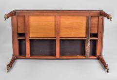 Gillows of Lancaster London Regency Gillows Mahogany Writing Table Circa 1810 - 976274