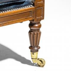 Gillows of Lancaster London Regency Mahogany Library Chair by Gillows English circa 1815 - 1115898