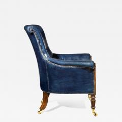 Gillows of Lancaster London Regency Mahogany Library Chair by Gillows English circa 1815 - 1115998