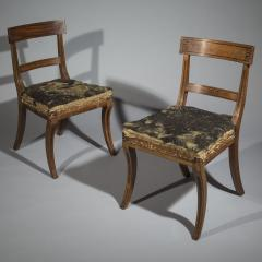 Gillows of Lancaster London Set of Six Regency Klismos Dining Chairs attributed to Gillows - 1043532