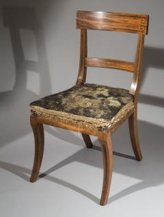 Gillows of Lancaster London Set of Six Regency Klismos Dining Chairs attributed to Gillows - 1043535