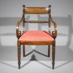 Gillows of Lancaster London Set of Twelve Regency Dining Chairs - 1215176