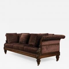 Gillows of Lancaster London Superb Pure Regency Period Rosewood Settee of astounding quality originality - 1238526