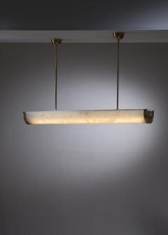 Gl ssner Gl ssner tube ceiling lamp with a botanic motif - 2066493