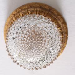 Glash tte Limburg 1 of 10 Glass Flush Mounts or Sconces on Gold Plated Base by Glashu tte Limburg - 538607