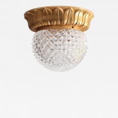 Glash tte Limburg 1 of 10 Glass Flush Mounts or Sconces on Gold Plated Base by Glashu tte Limburg - 540528