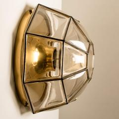 Glash tte Limburg 1 of the 12 Clear Glass Flush Mount or Wall Light by Limburg - 1190322