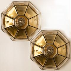 Glash tte Limburg 1 of the 12 Clear Glass Flush Mount or Wall Light by Limburg - 1190332