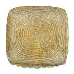 Glash tte Limburg Limburg Iridized Glass Flush Mount Fixture 1960s - 1187829