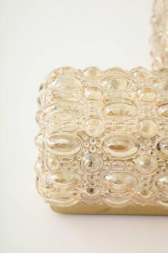 Glash tte Limburg Pair of Bubble Glass Sconces by Limburg - 1147807
