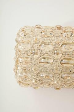 Glash tte Limburg Pair of Bubble Glass Sconces by Limburg - 1147808