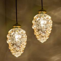 Glash tte Limburg Pair of Limburg Tynell Pendant Lights 1960s - 1336484