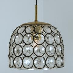 Glash tte Limburg Set of Four Circle Iron and Bubble Glass Sconces Light Fixtures Glash tte 1960 - 1026214
