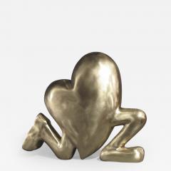 Glenn Green Galleries Running Heart - 505635
