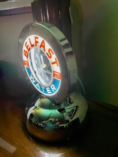 Glo Dial Belfast Glo Dial Sparkling Water Neon Table Clock - 1999391