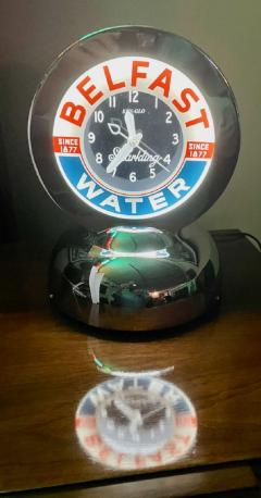 Glo Dial Belfast Glo Dial Sparkling Water Neon Table Clock - 1999406