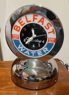 Glo Dial Belfast Glo Dial Sparkling Water Neon Table Clock - 1999461