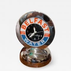 Glo Dial Belfast Glo Dial Sparkling Water Neon Table Clock - 2001989