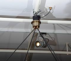Glustin Luminaires Glustin Luminaires Creation Brass Hoop Chandeliers - 728682
