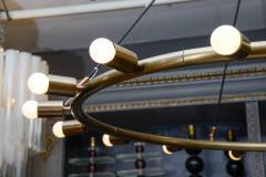 Glustin Luminaires Glustin Luminaires Creation Brass Hoop Chandeliers - 728683
