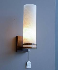 Glustin Luminaires Glustin Luminaires Creation Brass and Alabaster Wall Sconces - 728689