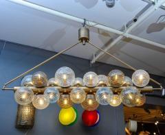 Glustin Luminaires Glustin Luminaires Creation Line Chandelier with Murano Glass Globes - 714719
