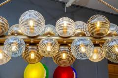 Glustin Luminaires Glustin Luminaires Creation Line Chandelier with Murano Glass Globes - 714720