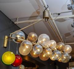 Glustin Luminaires Glustin Luminaires Creation Line Chandelier with Murano Glass Globes - 714721