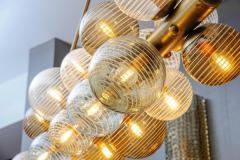 Glustin Luminaires Glustin Luminaires Creation Line Chandelier with Murano Glass Globes - 714723