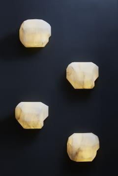 Glustin Luminaires Monoliths Alabaster Wall Sconce by Galerie Glustin Luminaires - 1173814