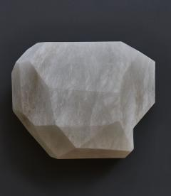 Glustin Luminaires Monoliths Alabaster Wall Sconce by Galerie Glustin Luminaires - 1173817