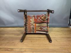 Gold Medal Mid Century Gold Medal Safari Chair Turkish Kilim Seating - 1792311