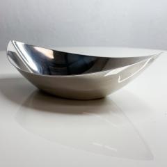 Gorham Manufacturing Co GORHAM Silverplate Serving Dish Oval Bowl Modern Midcentury - 2026118