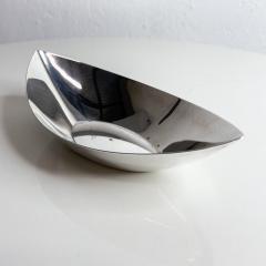 Gorham Manufacturing Co GORHAM Silverplate Serving Dish Oval Bowl Modern Midcentury - 2026119
