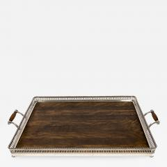 Gorham Manufacturing Co Large Silver Plated Edwardian Tray By Gorham USA - 1864135