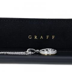 Graff GRAFF 0 92 CTS EMERALD AND 2 64 CT DIAMOND PENDANT NECKLACE WITH BOX - 2086637