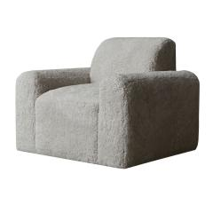 Grant Trick Shearling Lounge Chair - 2117189