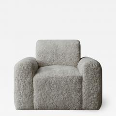 Grant Trick Shearling Lounge Chair - 2119761