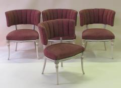 Grosfeld House An Elegant Set of 4 Grosfeld House Side Game Chairs - 429631