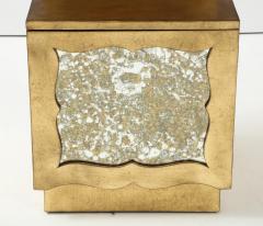Grosfeld House Grosfeld House 22kt Gold Gilded Night Stands - 1108900