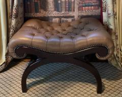 Grosfeld House Grosfeld House Bench in Tufted Lambskin Leather - 2066482